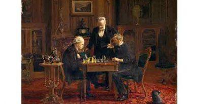 Thomas Eakins, Satranç Partisi