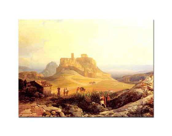 Thomas Ender Akrapolis Atina