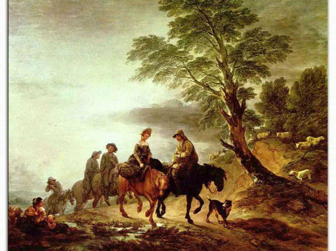 Thomas Gainsborough Pazara Giderken