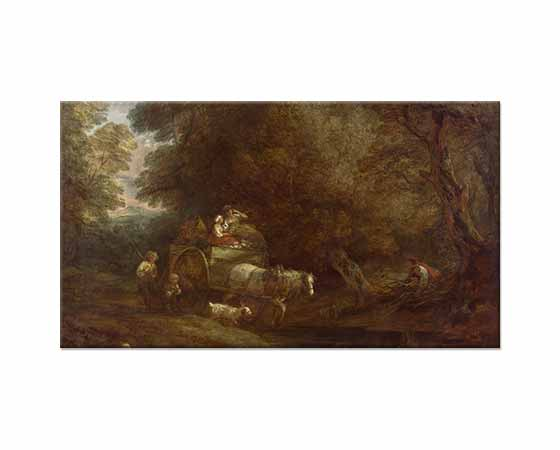Thomas Gainsborough Pazara Giderken