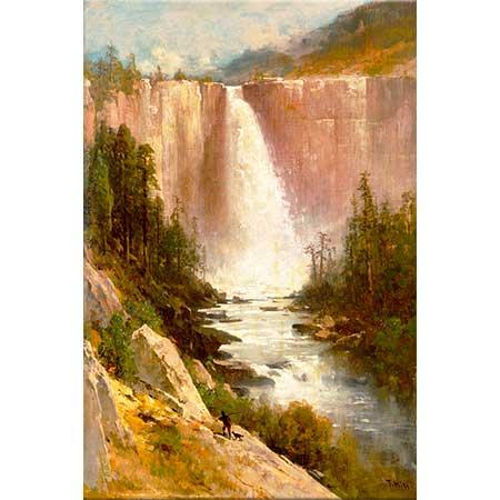 Thomas Hill Nevada Şelalesi Yosemite