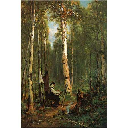 Thomas Hill Şövalesi ile Ressam