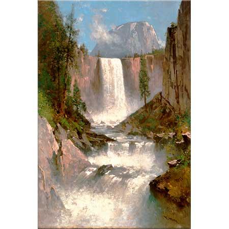 Thomas Hill Vernal Şelalesi Yosemite