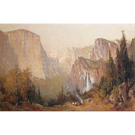 Thomas Hill Yosemite Vadisi