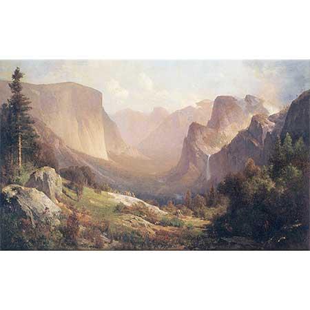 Thomas Hill Yosemite Vadisinden