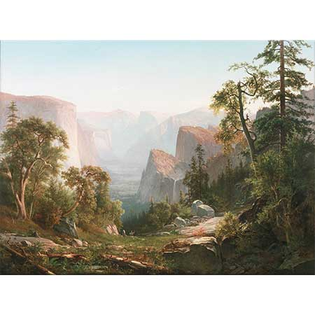 Thomas Hill Yosemite Vadisine Bakış