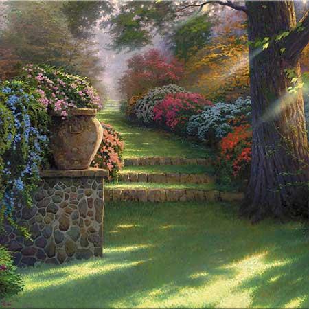 Thomas Kinkade Bahçe