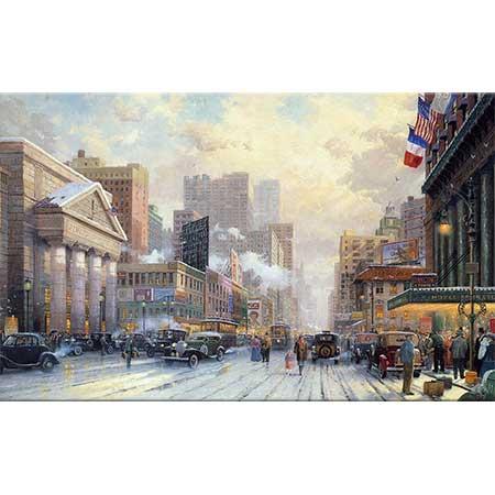 Thomas Kinkade Karda 7 Avenue New York