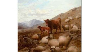 Thomas Sidney Cooper Dağın Eteğinde Koyunlar