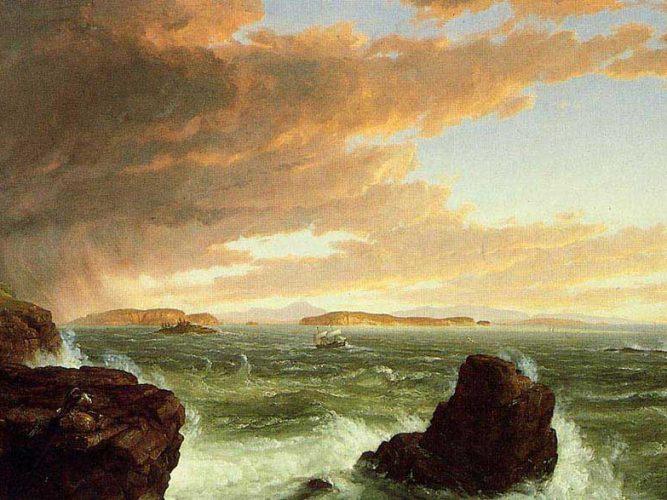 Thomas Cole Bora Sonrası Frechman Körfezine Geçiş