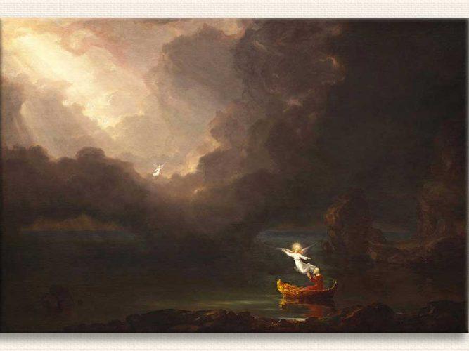 Thomas Cole Yaşam Yolculuğu Eski Zamanlar