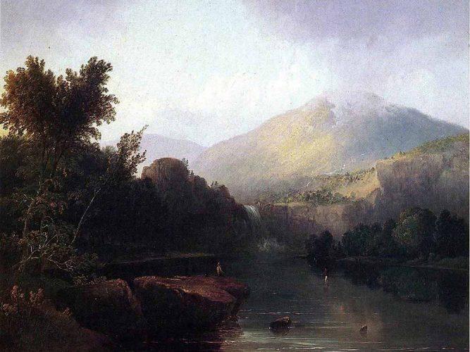 Thomas Doughty Beyaz Dağlar Arasında Göl