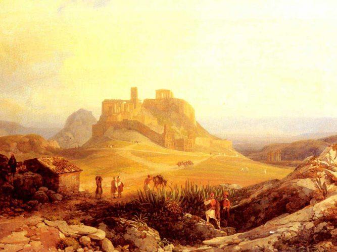 Thomas Ender Akrapolis Atina tablosu