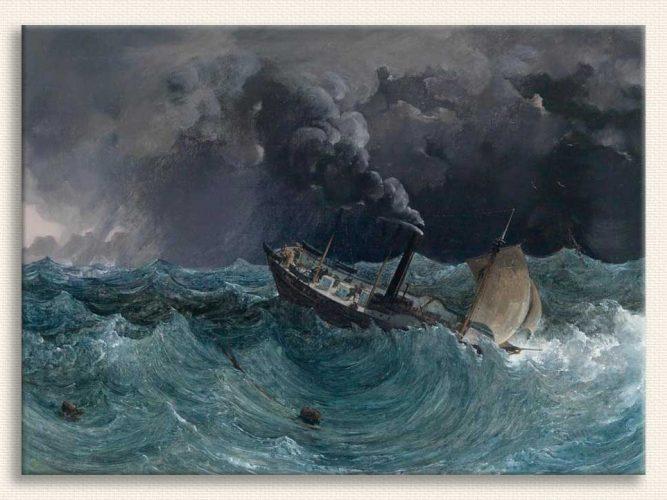 Thomas Ender Buharlı Gemi tablosu