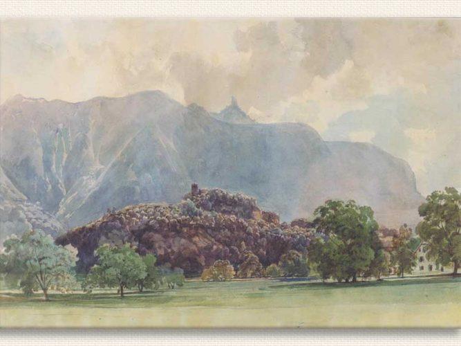 Thomas Ender Kale ve Manzara