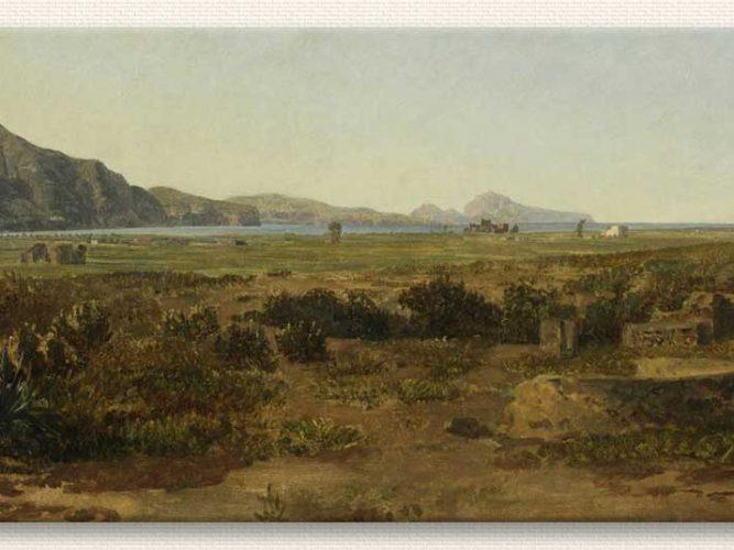 Thomas Ender Kıyı Manzarası tablosu