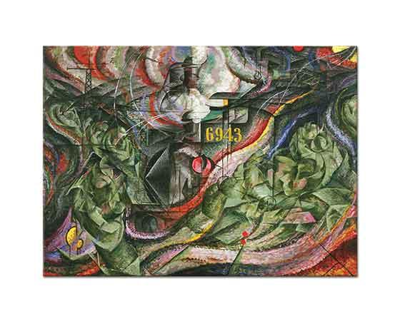 Umberto Boccioni Bilinç Devleti I Uğurlama