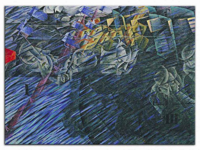 Umberto Boccioni Bilinç Devleti II Gidenler