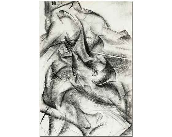 Umberto Boccioni Kas Dinamizmi