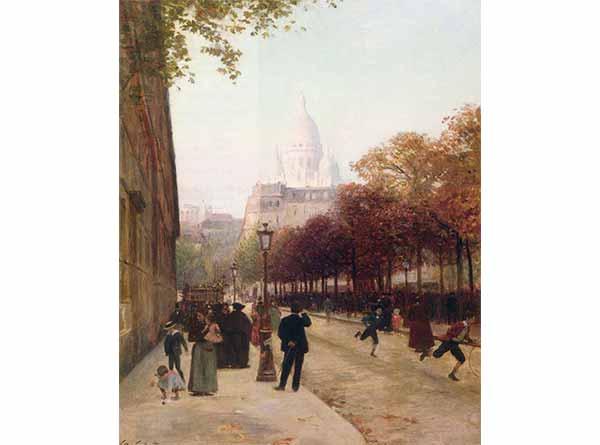 Victor Gabriel Gilbert Anvers ve Le Sacre Coeur