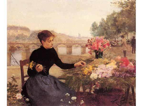 Victor Gabriel Gilbert Çiçek Pazarı