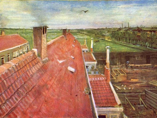Vincent Willem van Gogh Atelyeden Schenkweg'e Bakış