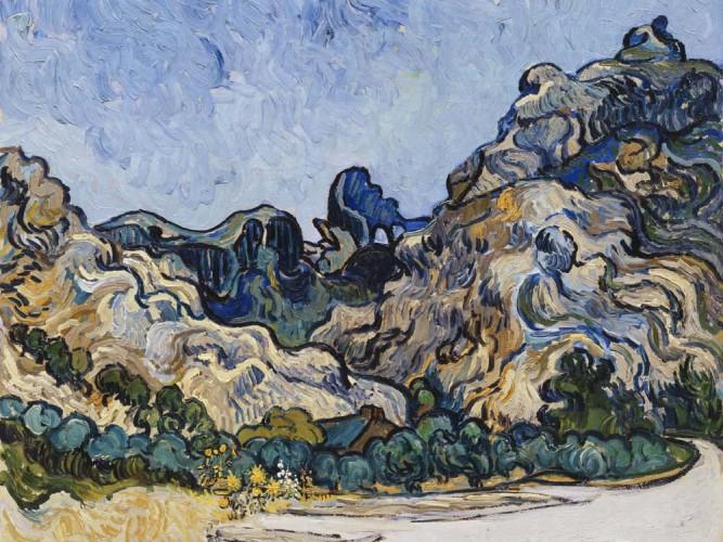 Vincent Willem van Gogh Saint Remy Tepesi