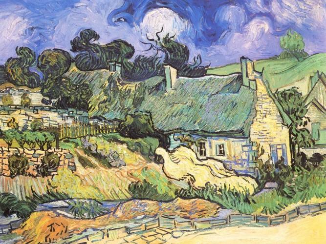 Vincent Willem van Gogh Auvers'te Evler