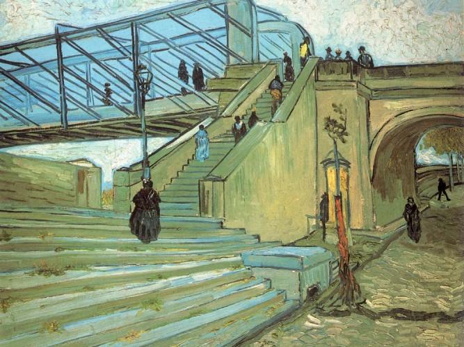 Vincent Willem van Gogh Trinquetaille Köprüsü