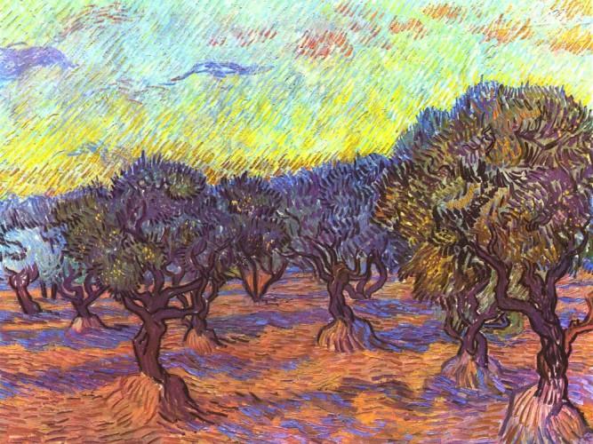 Vincent Willem van Gogh Zeytinlik