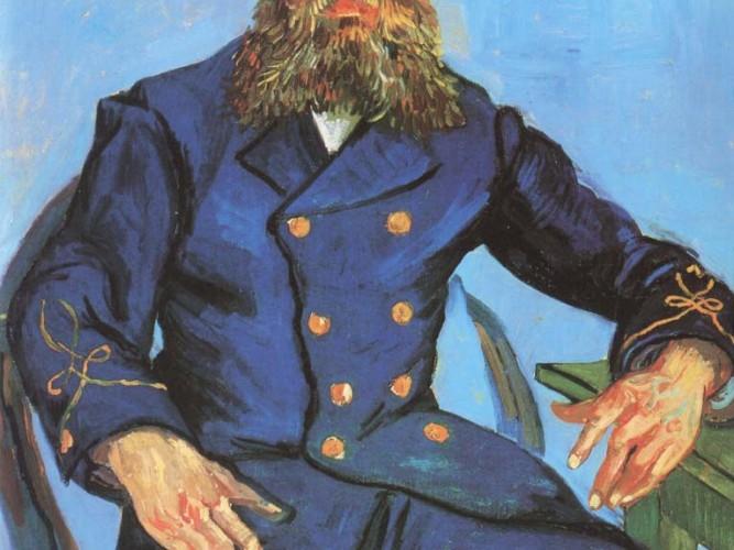 Vincent Willem van Gogh Postacı Roulin