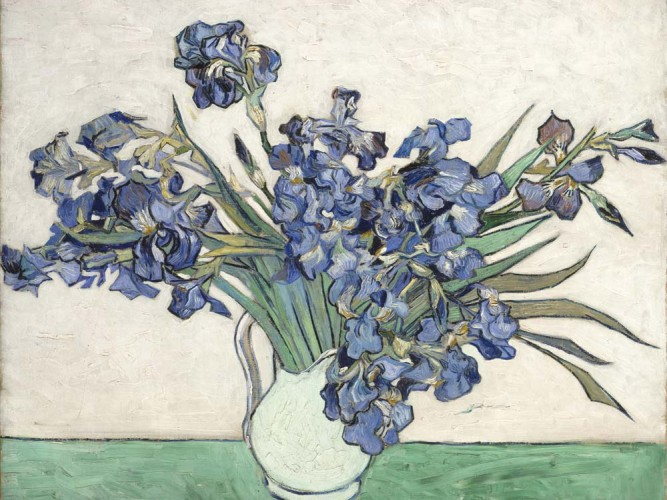 Vincent Willem van Gogh Süsenler tablosu