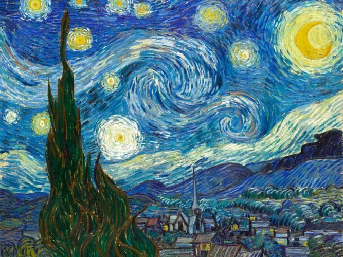 Vincent Willem van Gogh Yıldızlı Gece