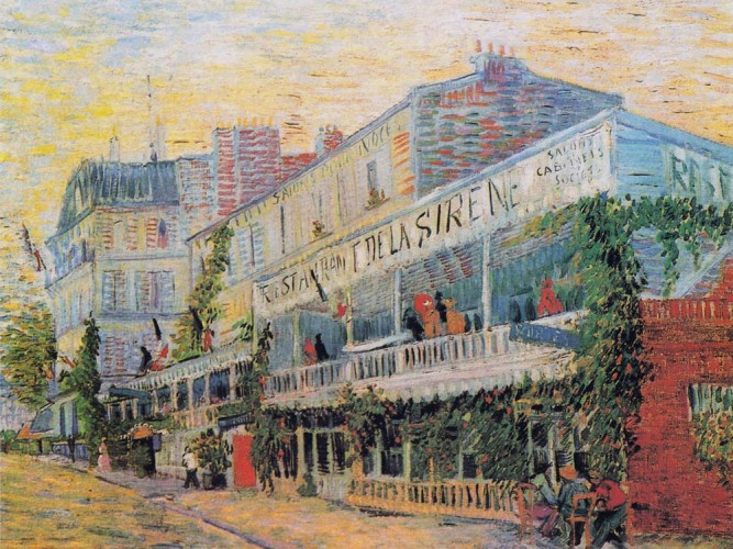 Vincent Willem van Gogh Restaurant Sirene