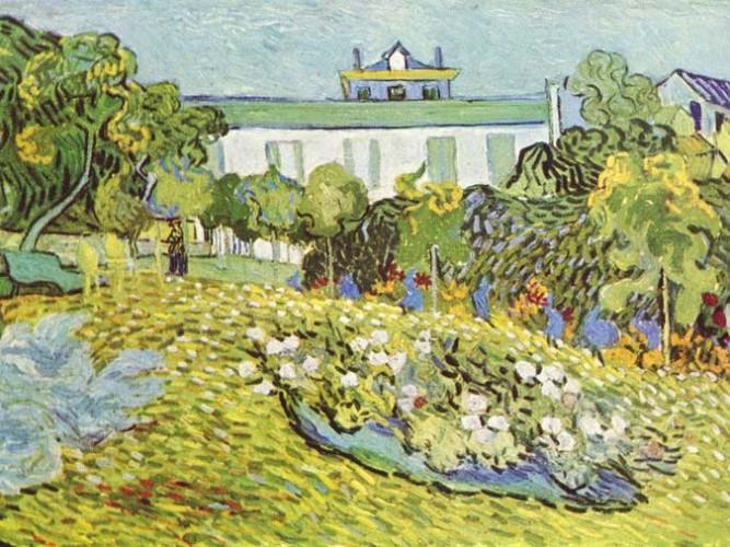 Vincent Willem van Gogh Daubigny'nin Bahçesi