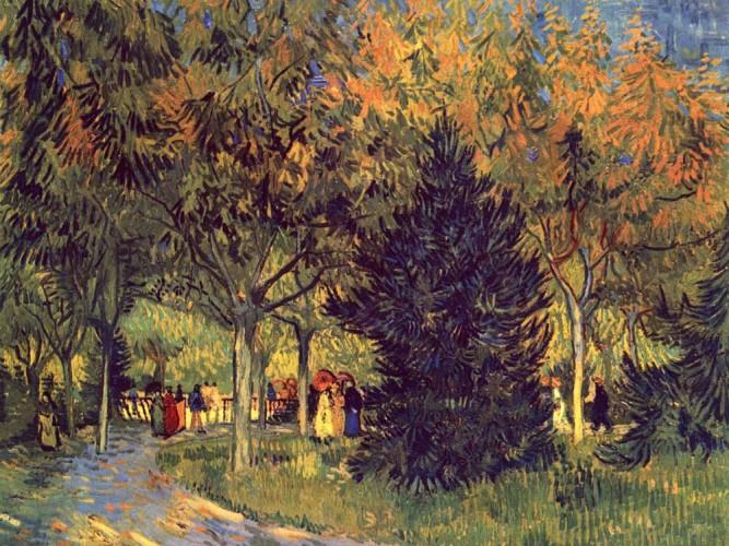 Vincent Willem van Gogh Şairler Parkı