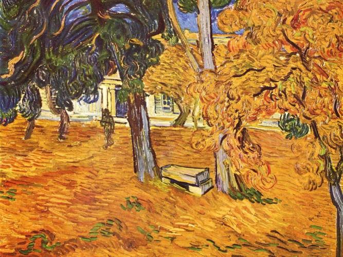 Vincent Willem van Gogh St Paul Hastanesi Parkı