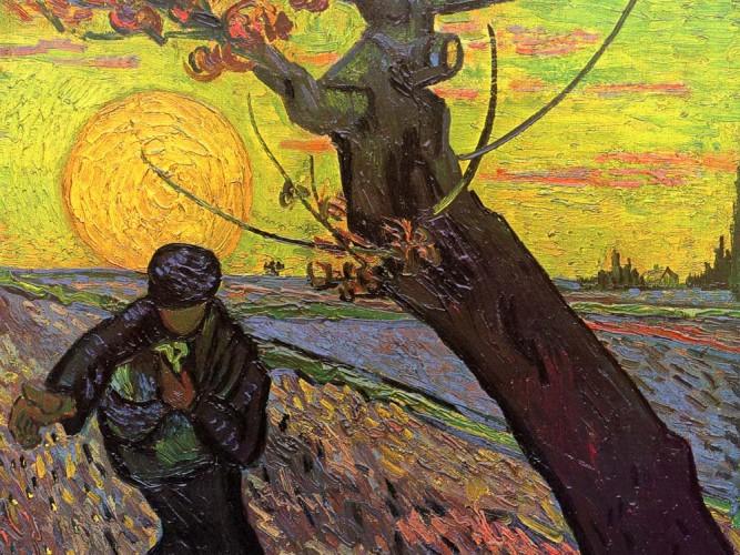 Vincent Willem van Gogh Çiftçi tablosu
