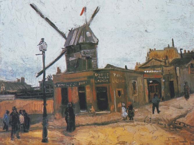Vincent Willem van Gogh Le Galet Değirmeni