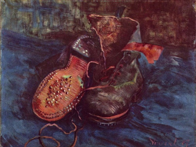 Vincent Willem van Gogh Ayakkabılar