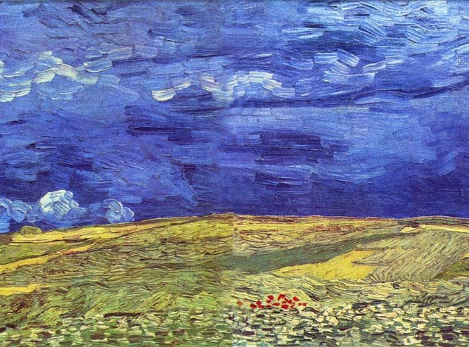 Vincent Willem van Gogh Fırtına ve Tarla
