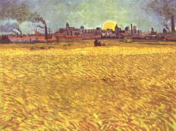 Vincent Willem van Gogh Arles'de Yaz Akşamı