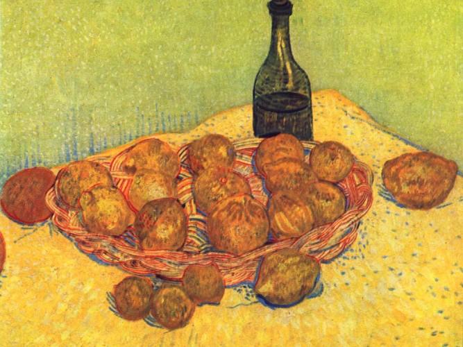 Vincent Willem van Gogh Limonlu Natürmort