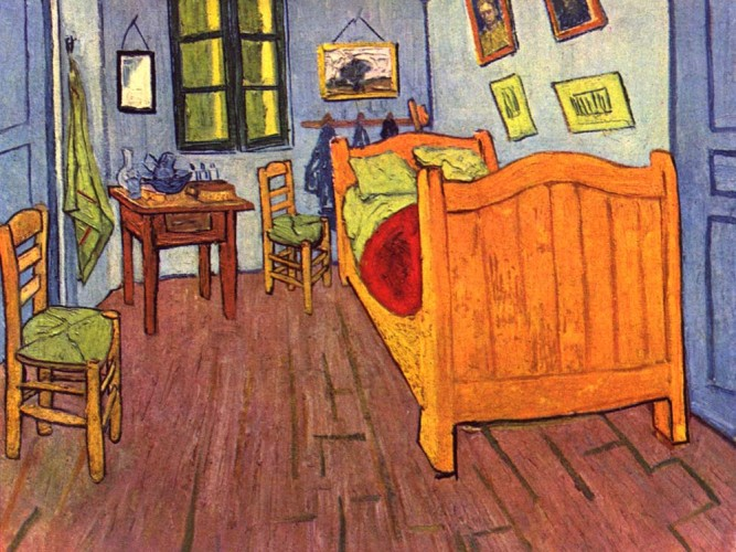 Vincent Willem van Gogh Sanatçının Yatak Odası