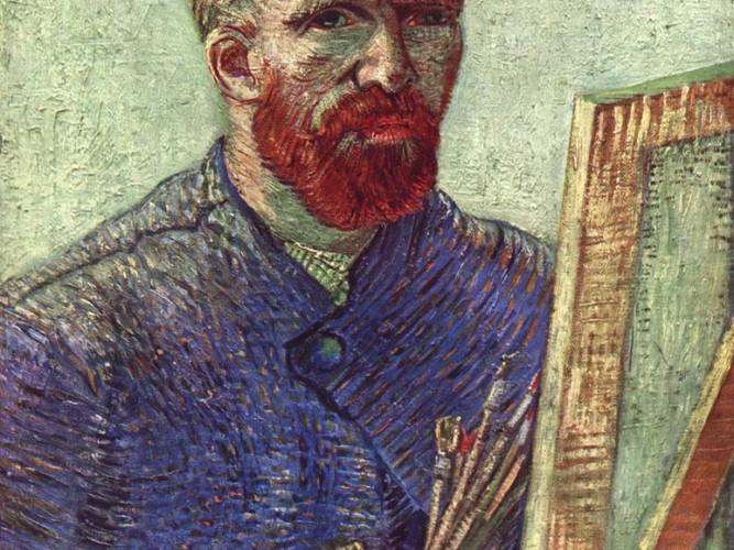 Vincent Willem van Gogh Tuval Başında