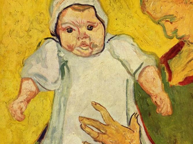 Vincent Willem van Gogh Bayan Roulin Bebeği ile