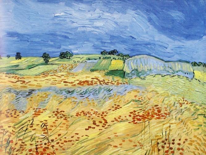 Vincent Willem van Gogh Auvers'te Manzara