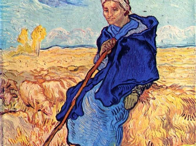 Vincent Willem van Gogh Kadın Çoban