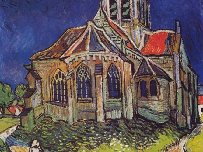 Vincent Willem van Gogh Auvers Kilisesi