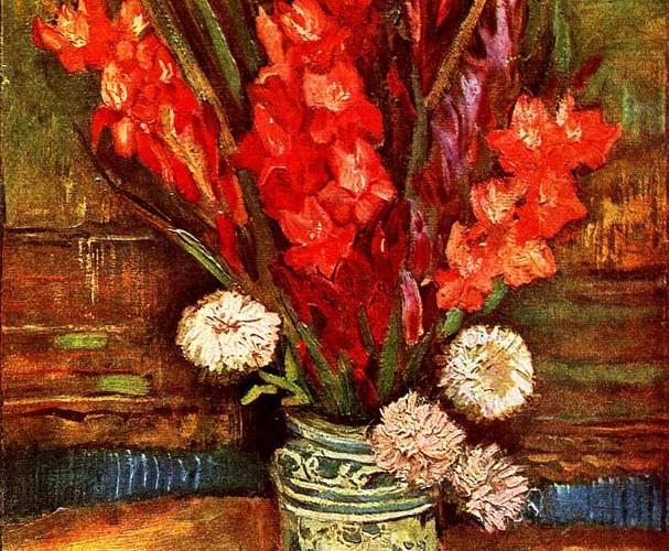Vincent Willem van Gogh Gladyolar